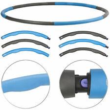Hula-Hoop-Reifen mit Schaumstoff-Ummantelung & Massage-Noppen, 1,2 kg