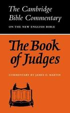 Cambridge Bible Commentaries on the Old Testament: The Book of Judges by...