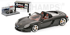 Minichamps 1:43 519 436260 PORSCHE CARRERA GT - Black - TOP GEAR- NEW