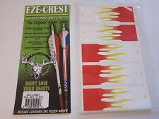 NEW EZE-EYE Easy Eye EZE CREST Arrow Wraps 13 Pack Red Flame LOTS More Listed