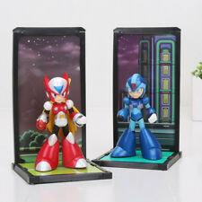 New 2Pcs Tamashii Nations Buddies Mega Man Rockman Zero PVC Toys KIds Gifts 10Cm