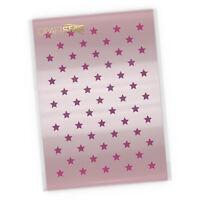 Mini Star Pattern Stencil -  Stars Airbrush / Craft / Cake Stencil