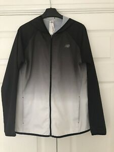 NEW BALANCE HOODED RUNNING JACKET MEDIUM