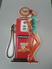 Gas Pump Girl  Sign
