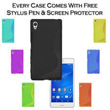 Étuis, housses et coques etuis portefeuilles en silicone, caoutchouc, gel pour téléphone mobile et assistant personnel (PDA) Sony