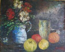 Peintures du XXe siècle et contemporaines signés nature morte pour Expressionnisme