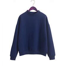 taglie forti donna felpa con cappuccio Color caramella maglione cappotto giacca