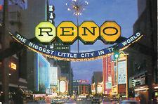 postcard   USA       Nevada  Reno world famous Reno Arch   posted