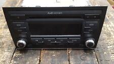 AUDI A4 B7 Concert Radio CD Player Head Unit 8E0035186AL WITOUT CODE