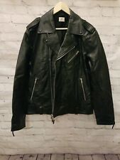 AG Adriano Goldschmied Mens Kuro Leather Motocrcycle Style Jacket XL Brand NEW