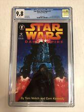 Star Wars Dark Empire (1992) # 2 (CGC 9.8 WP)  Only 18 Census !