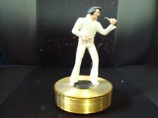 Elvis Presley Aloha From Hawaii Music Box, 1st Issue Forever Gold Sculpture