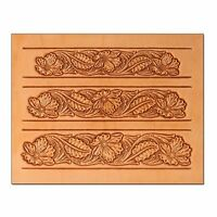 Craftaid Plastic Oak Leaf Belt Template 72015-00 Tandy Leather