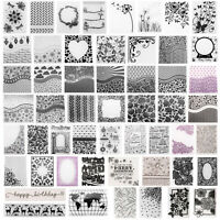 DIY Embossing Folders Plastic Template Die Cutting Scrapbooking Album Card Xmas