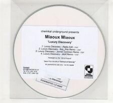 (HE446) Miaoux Miaoux, Luxury Discovery - DJ CD