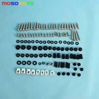 Complete Set Fairing Bolt Kit Body Screw Nuts Washers For Honda CBR1000RR 08-12