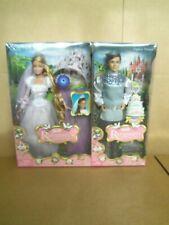 Barbie Rapunzel's Wedding with Prince Stefan & Barbie Dolls by Mattel (2005) NIB
