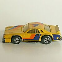 Matchbox Superfast Chevy Pro Stocker Toy Car Yellow Vintage 1980 No. 34 Die-Cast