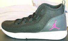 Nike Jordan Reveal GG Uk 6 HI Top Trainers 834184  061 Bnib Black white Pink