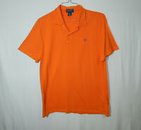 Ralph Lauren Polo Short Sleeve Golf Shirt Orange Size Large L Mens Clothing