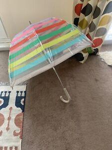 Candy Stripe Umbrella Kate Spade New York RRP $38