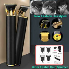 Electric Hair Clipper Pro Li Liner Grooming Cordless Cutting T-Blade Trimmer Set