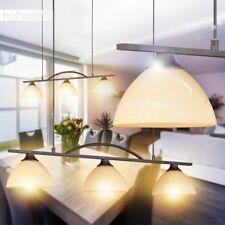 Hänge Lampe Wohn Ess Zimmer Tisch Beleuchtung Glas Pendel Leuchte Landhaus Stil