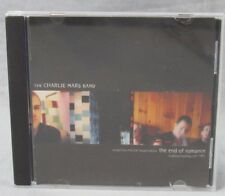 The Charlie Mars Band cd The End of Romance 3-Track Single 3 Songs Album
