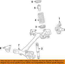 FIAT OEM 12-17 500 Rear Suspension-Spindle 68071699AA