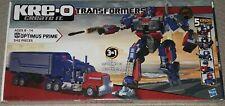 Transformers Kre-O Optimus Prime 30689 new sealed bluestreak skywarp 542 pieces