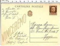 cartolina Storica Patriottica Mussolini -  2802