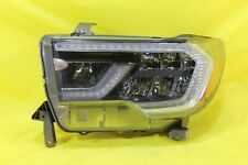 🤭 18 19 20 Toyota Sequoia Left Driver Headlight OEM w/out Platinum (Black)