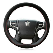 New listing For Toyota Crown 2012-201 Diy Hand-stitched Car Steering Wheel Cover Top Leather