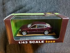 Tosa 1:43 Toyota Aristo S300 Walnut Package Bordeaux Mica Diecast