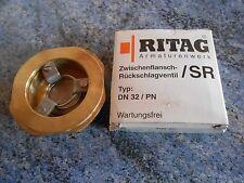 Ritag Rückschlagventil SR 70.16 DN 32 - Zwischenflansch , Rückschlag Ventil Neu