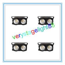 4x  LED Blinder light 2*100w COB Audience light  warm white 2in1 wash blinder
