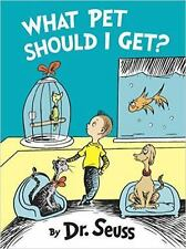 Classic Seuss: What Pet Should I Get? by Dr. Seuss (2015, Picture Book)FREE SHIP