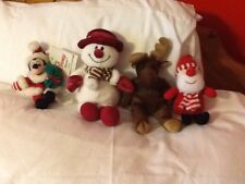 MOOSE MICKEY MOUSE SNOWMAN & FATHER CHRISTMAS