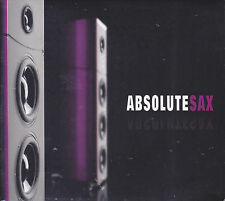 """Absolute Sax"" EQ Music Audiophile Jazz Collection 2-CD Brand New Sealed"