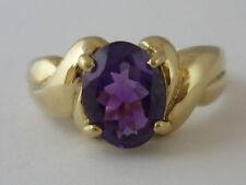 Gems TV Amethyst Natural Yellow Gold Fine Jewellery