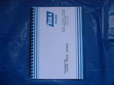 BSA C15T TRIALS,SCRAMBLES,ROAD, ETC PARTS BOOK 1965-67
