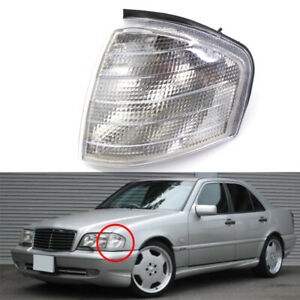 Left Side Corner Lamp Turn Signal Light Housing For Mercedes Benz C230 C220 C280