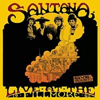 Live At The Fillmore - 1968 By Santana  , Music CD