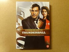 2-DISC ULTIMATE EDITION DVD / JAMES BOND 007 - THUNDERBALL