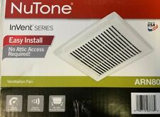 NuTone - Arn80 - InVent Series 80 Cfm Ceiling Bathroom Exhaust Fan