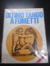 MAURIZIO BOVARINI - L'ULTIMO TANGO A FUMETTI - ED. MORGAN 1973