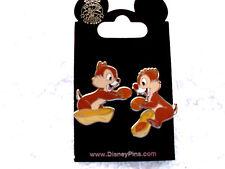 Disney * CHIP & DALE w/ PEANUT * New on Card 2 Pin Set