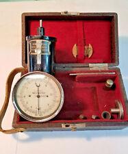 Vintage Tachometer RPM Gage, TACHYMETRE, Steampunk, Original Box & Accessories