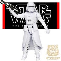 "FIRST ORDER SNOWTROOPER - Star Wars Black Series 6"" The Force Awakens TFA W4 NEW"