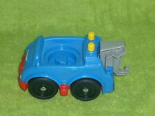 Fisher Price Little People Blue Garage Tow Truck